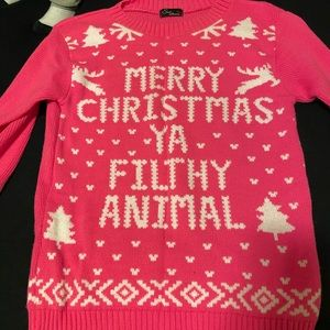 Sweaters - Ugly Christmas Sweater Hot Pink